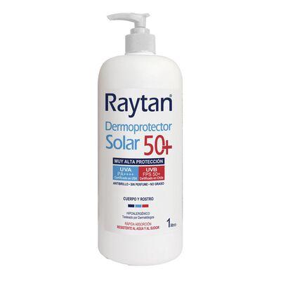 Dermoprotector Solar Raytan Spf 50+ / 1 Litro