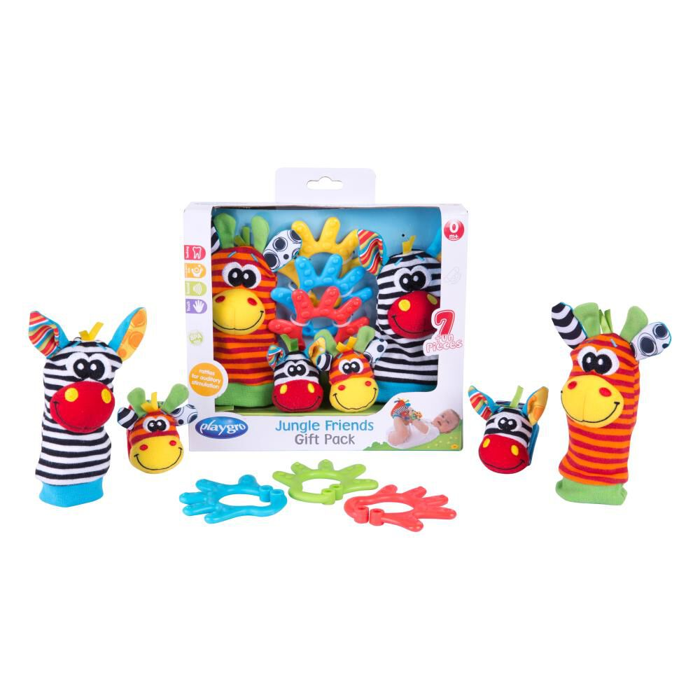 Jungle Friends Gift Pack Playgro image number 1.0