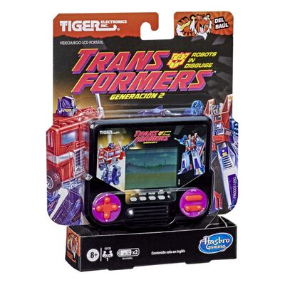 Juego Retro Gaming Tiger Electronics Transformers