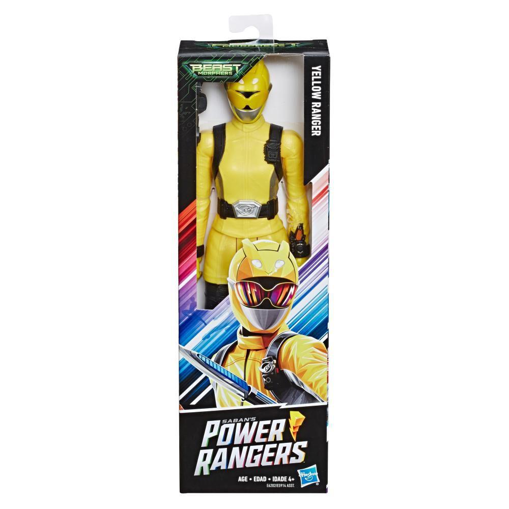 Figura De Acción Power Rangers Bmr Yellow Ranger image number 0.0