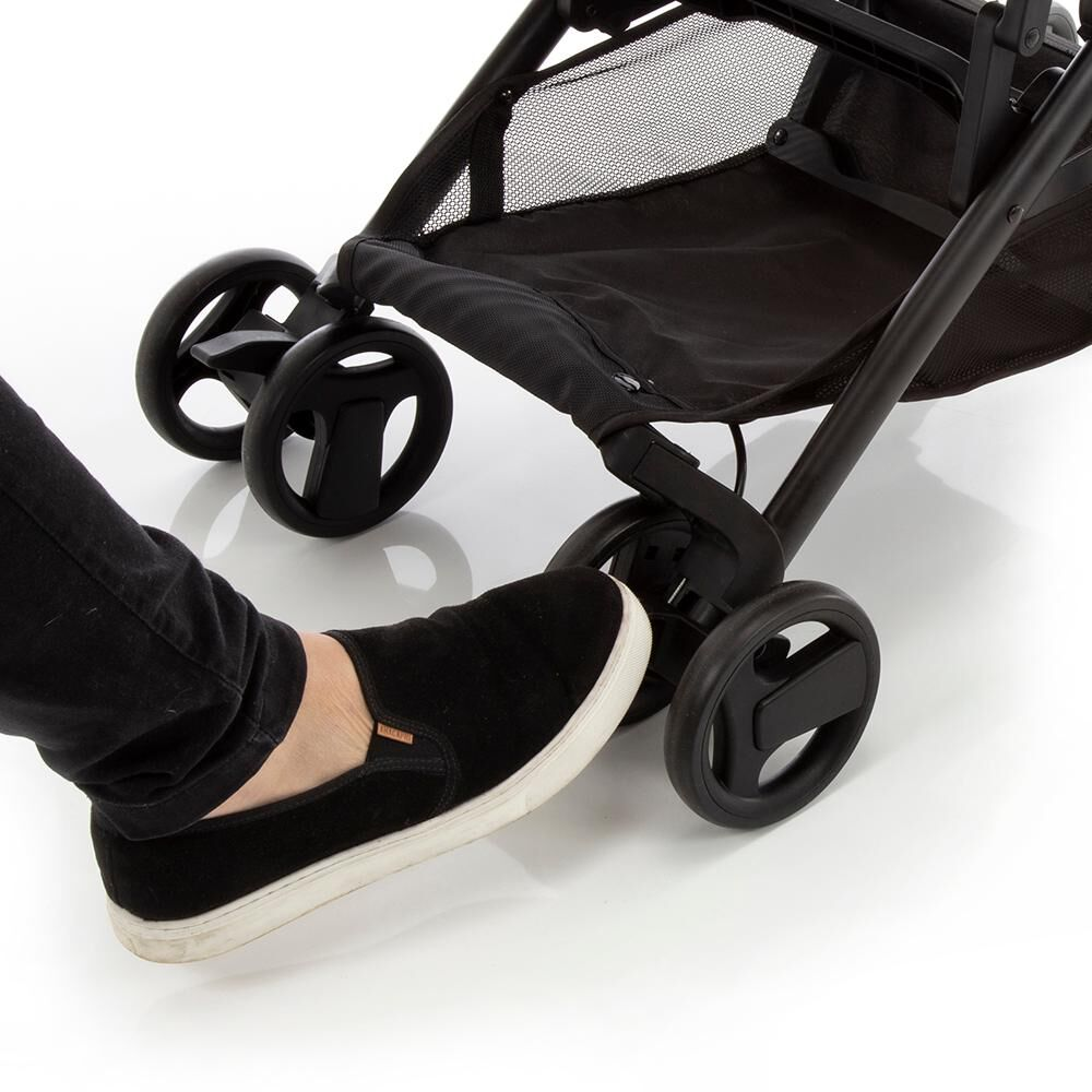 Coche De Paseo Safety Micro Grey Denim image number 2.0