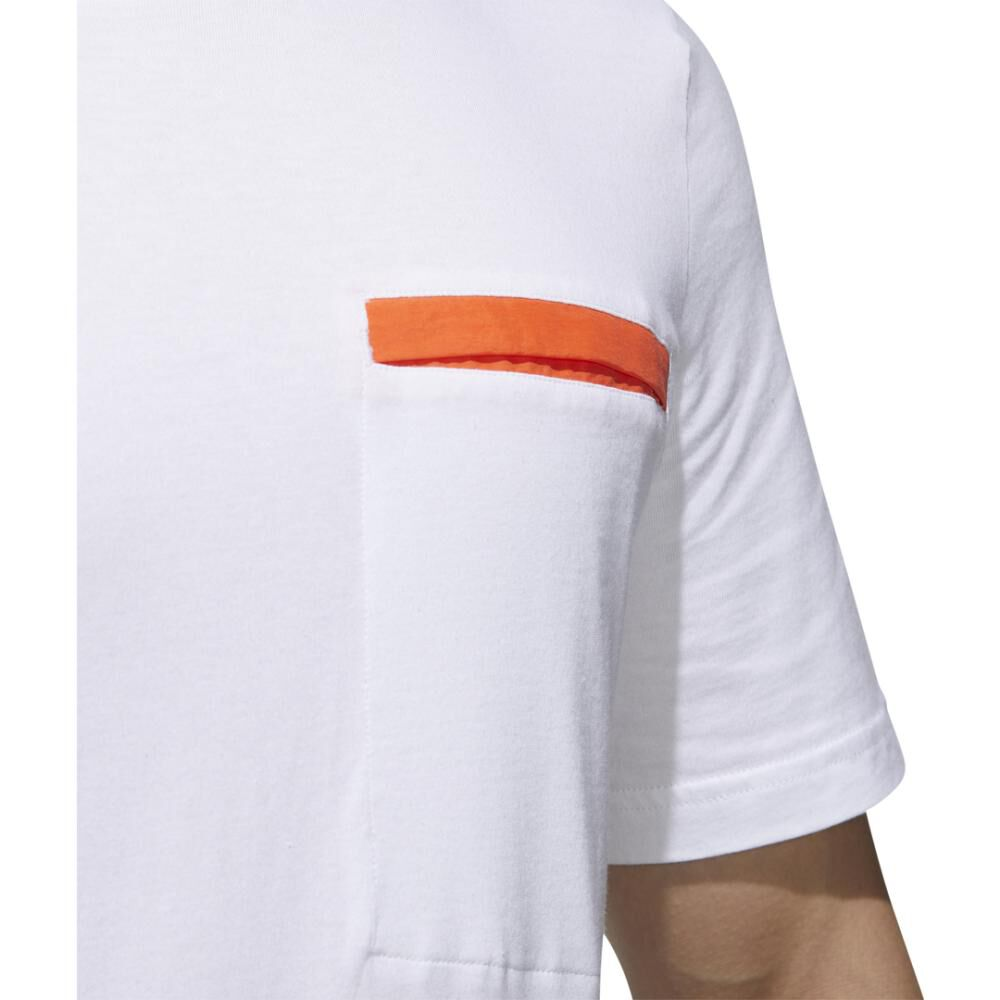Polera Hombre Adidas M New Authentic Tee image number 8.0