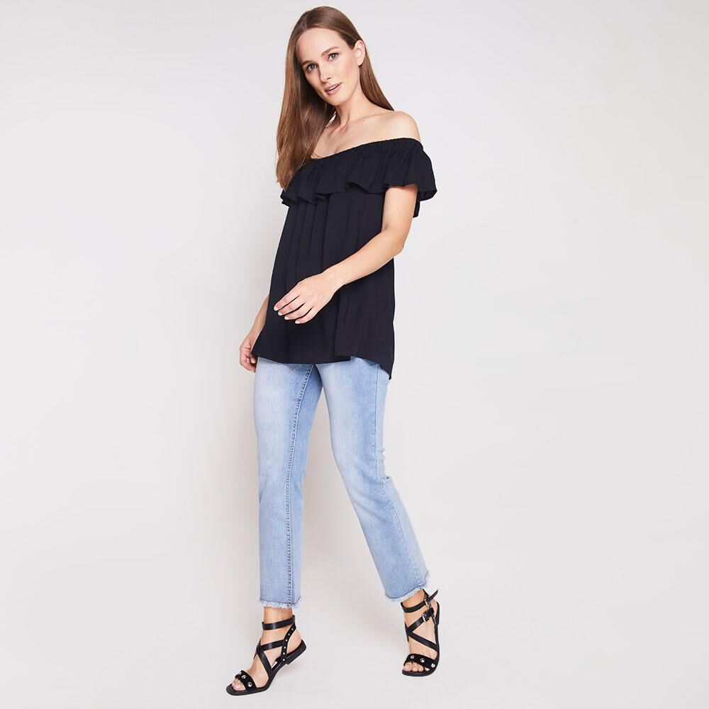 Blusa Con Vuelos Mujer Geeps image number 1.0