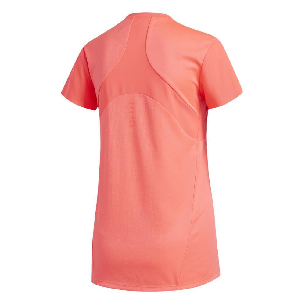 Polera Mujer Adidas De Entrenamiento Heat.rdy image number 8.0