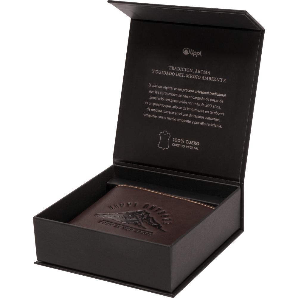 Billetera Unisex Lippi Classic Leather Wallet image number 1.0
