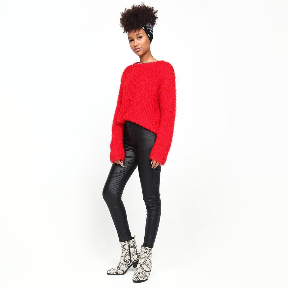 Sweater Peludo Mujer Rolly Go image number 1.0