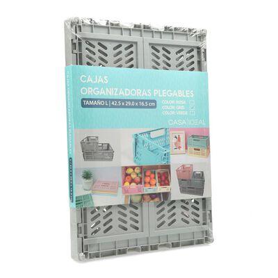 Caja Organizadora Casaideal Grande Gris
