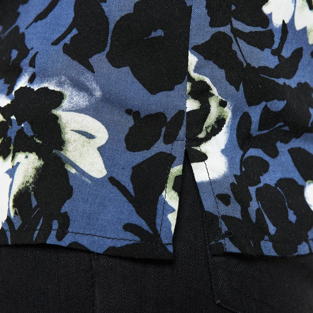 Camisa Manga Corta Hombre Az Black image number 4.0