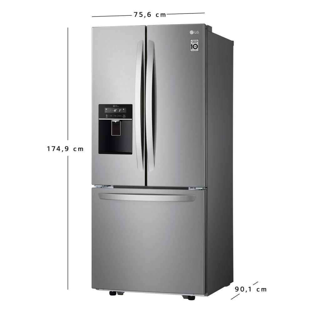 Refrigerador Side By Side Lg French Door LM22SGPK / No Frost / 533 Litros image number 9.0