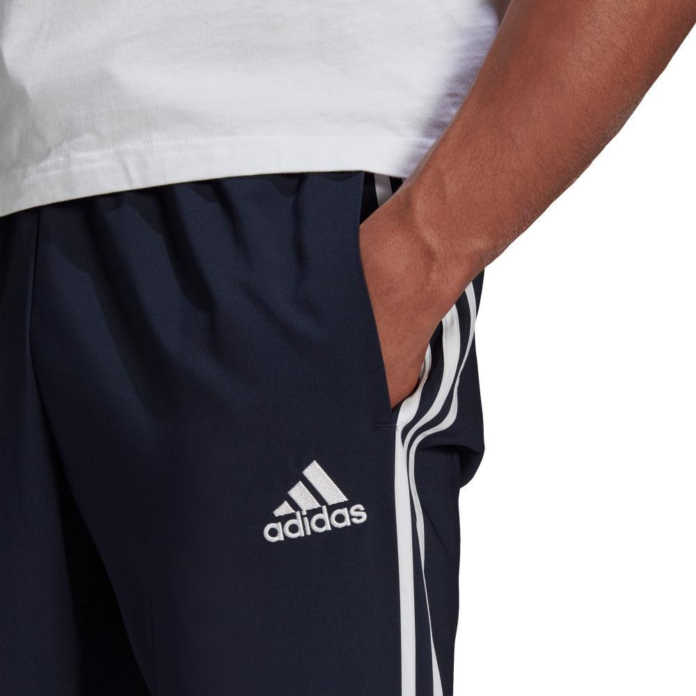 Pantalón De Buzo Hombre Adidas Eroready Essentials Tapered Cuff Woven 3 Bandas image number 2.0