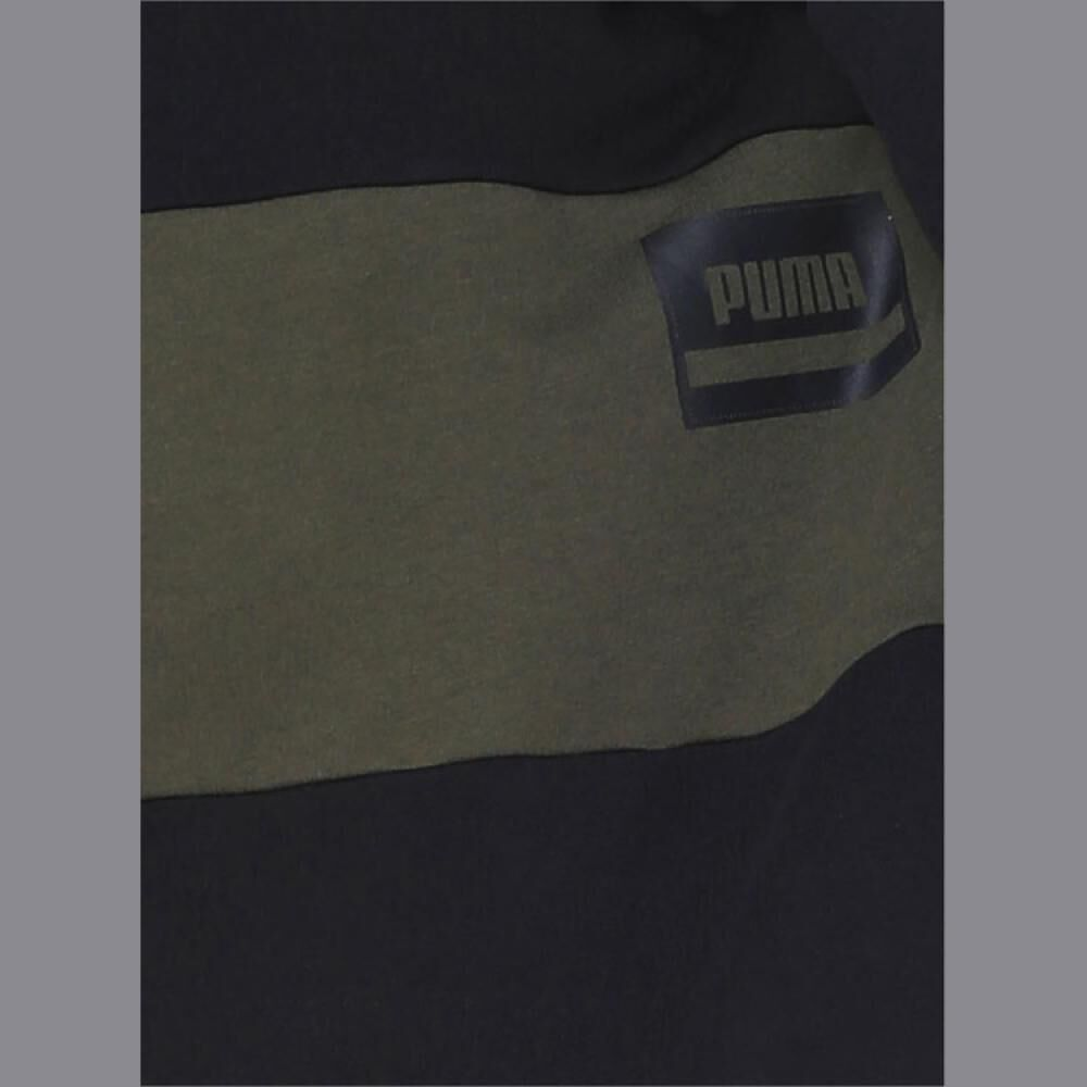 Poleron Deportivo Hombre Puma Rebel Stripe image number 2.0