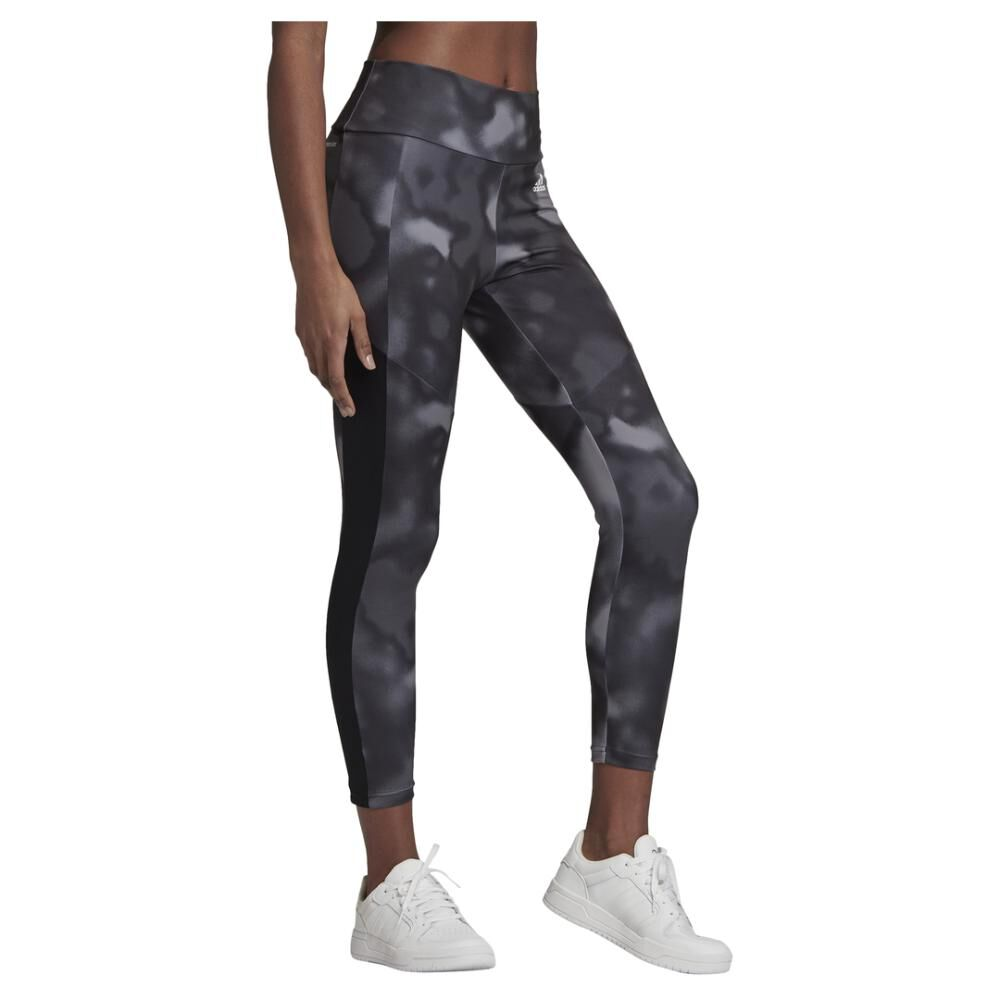 Calza Mujer Adidas Designed To Move Aop 7/8 Tight image number 4.0