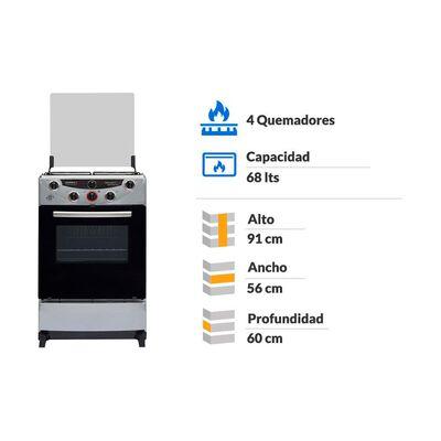 Cocina Sindelen Nova Avanti Ch-9400Si / 4 Quemadores