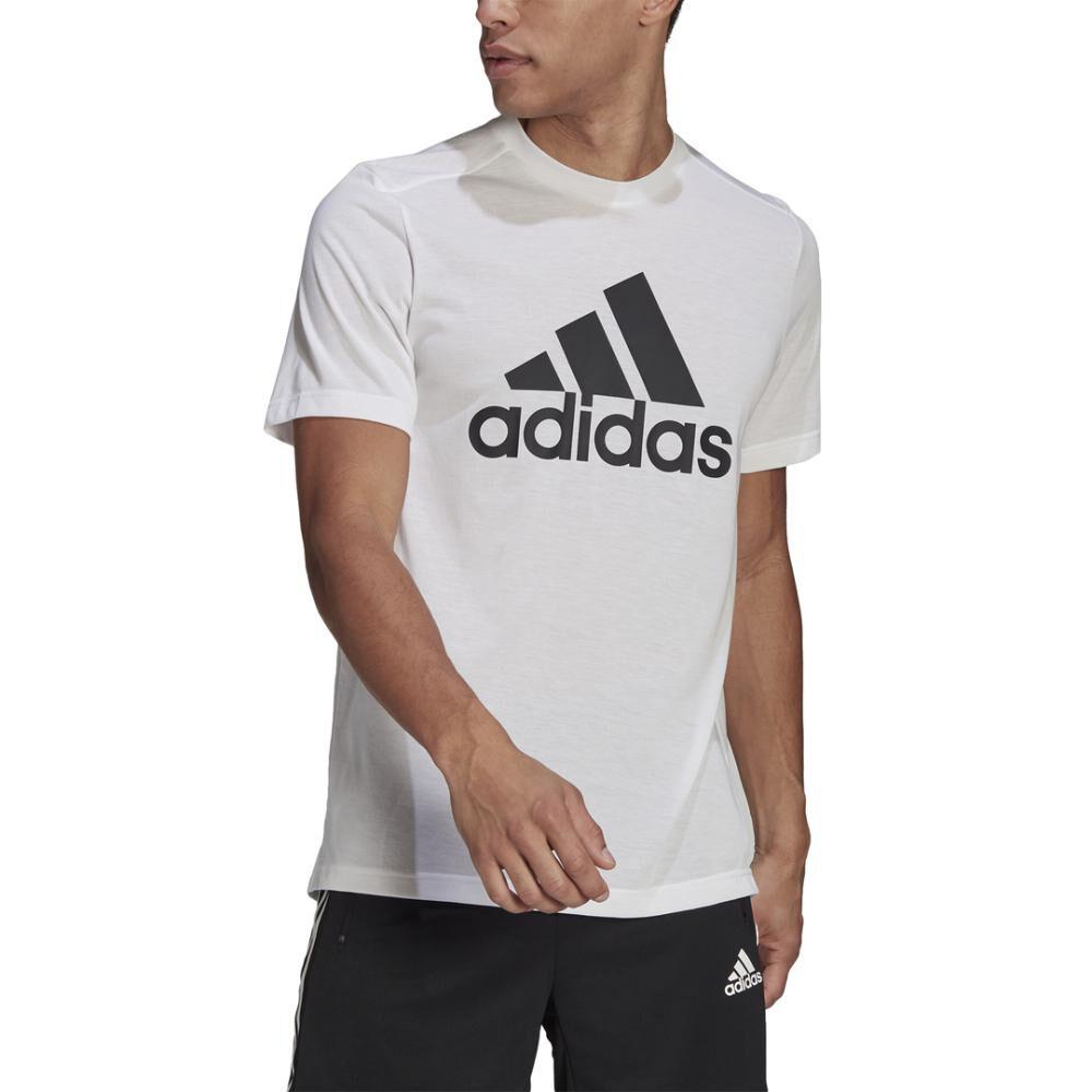 Polera Hombre Adidas D2m Feelready Logo T-shirt image number 0.0