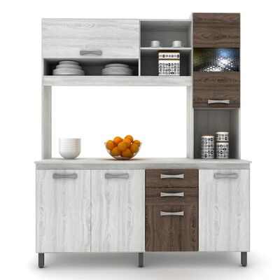 Mueble De Cocina Casa Ideal Vivi / 6 Puertas / 2 Cajones