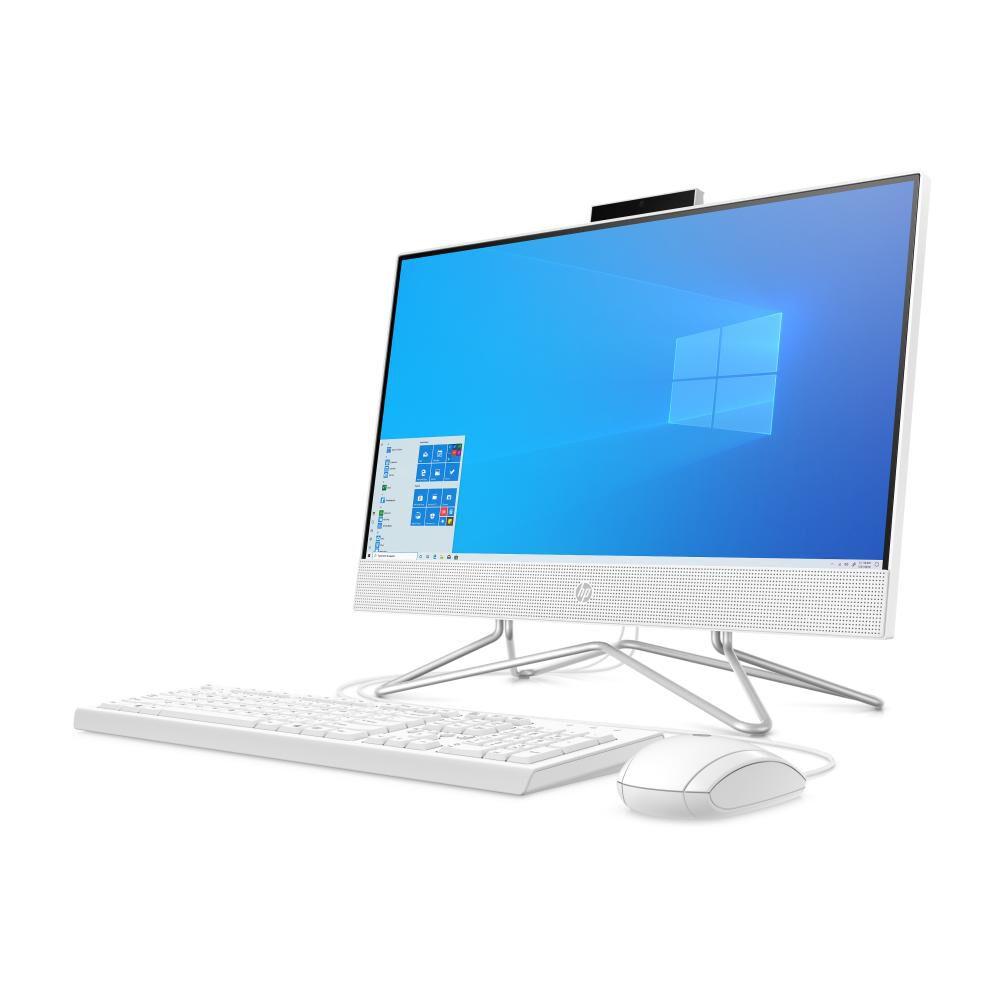 """All In One Hp All-in-one 22 Dd0011la / Blanco Nieve / Amd Athlon / 4 Gb Ram / Amd Athlon / 1 Tb + 256 Gb Híbrido / 21.5"""" image number 1.0"""