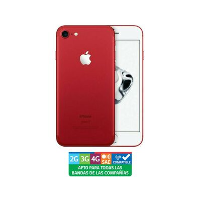 Smartphone Apple Iphone 7 Reacondicionado Rojo / 128 Gb / Liberado