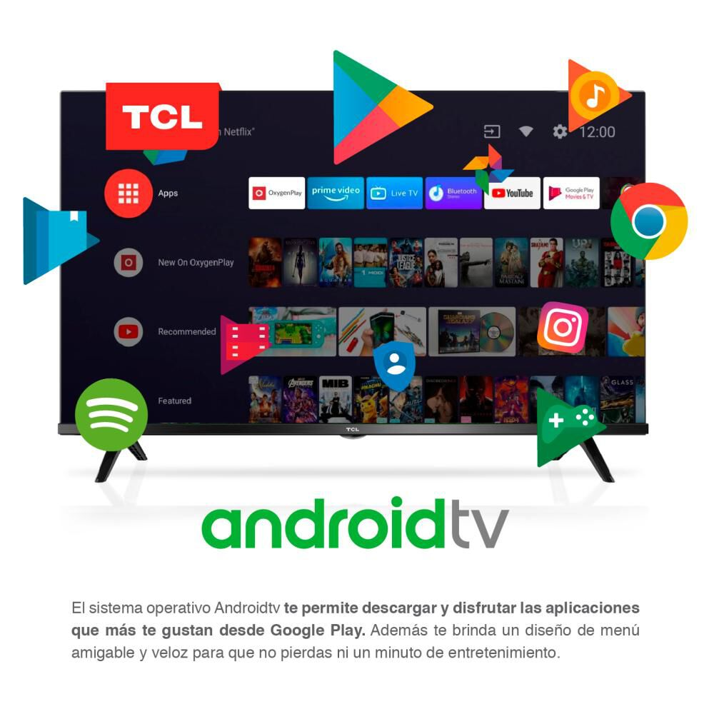 Led Tcl 40s65 Andriod Tv / 40'' / Full Hd / Smart Tv image number 2.0