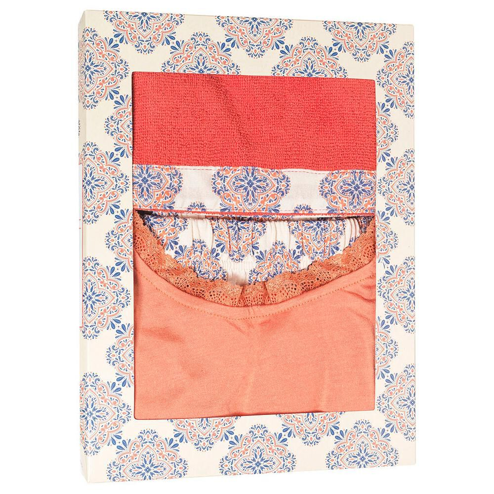 Pack Pijama + Toalla Pelo Mujer Geeps image number 5.0