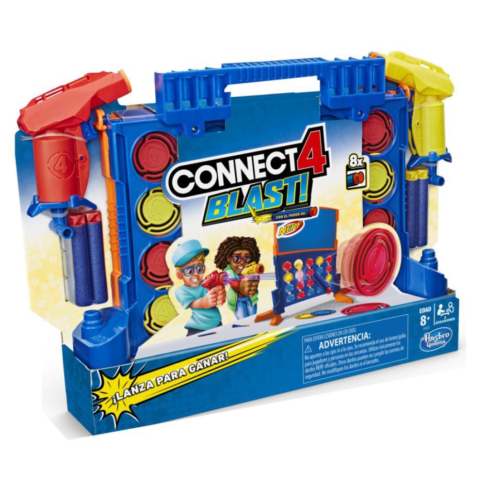 Juegos De Estrategia Nerf Connect 4 Blast! image number 2.0