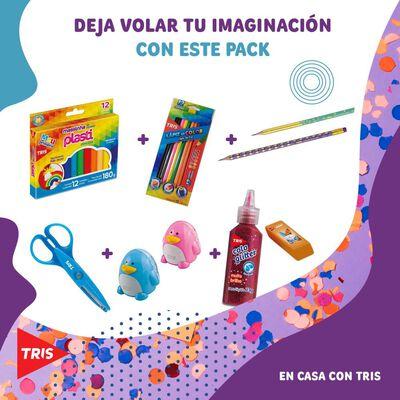 Set De Manualidades  Tris Pack 1 603377  / + 3 Años
