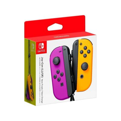 Nintendo Joy-con Pair Neon Purple / Orange