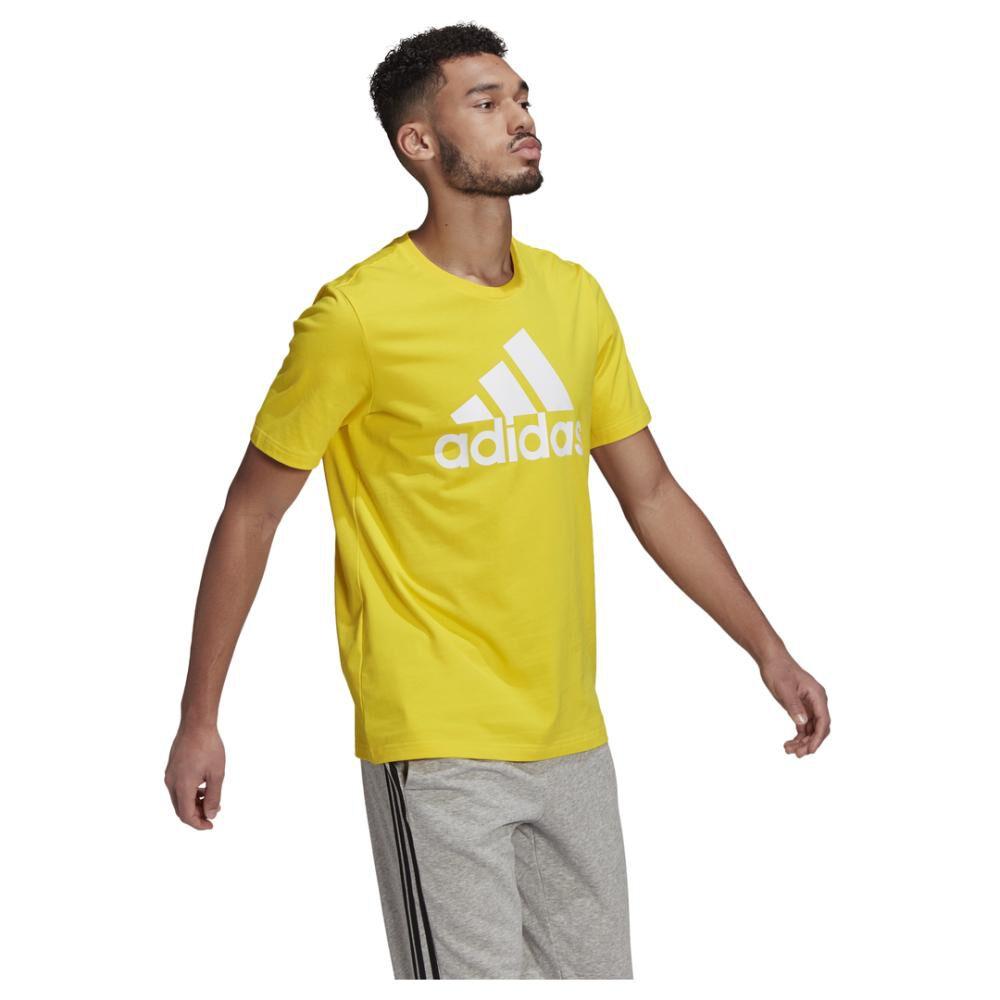 Polera Hombre Adidas Essentials Big Logo image number 1.0
