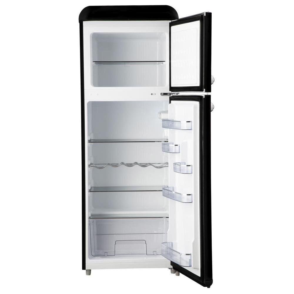 Refrigerador Libero Retro Lrt-210Dfnr Negro / Frío Directo / 203 Litros image number 1.0
