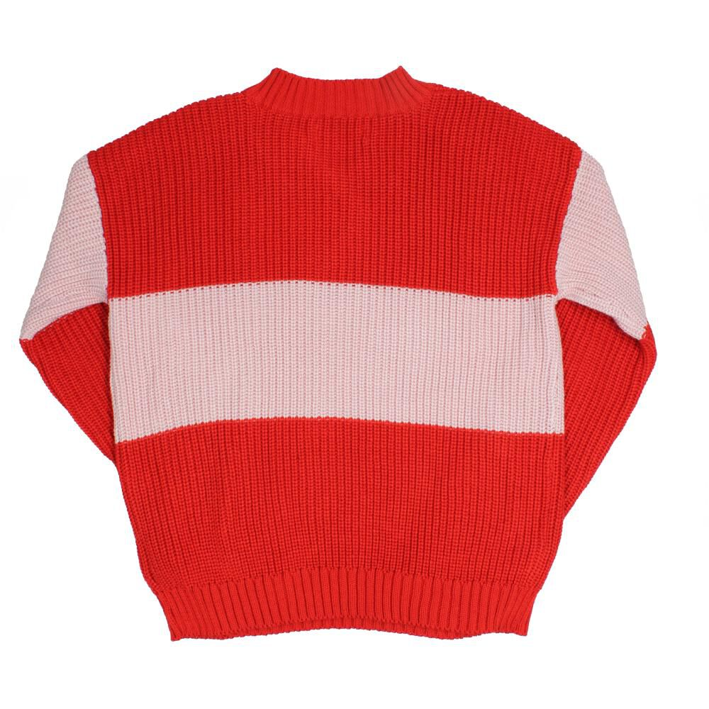 Sweater Niña Teen Red Rock image number 1.0