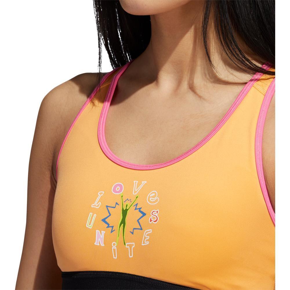 Peto Deportivo Mujer Adidas Lu Bos Med Bra image number 4.0