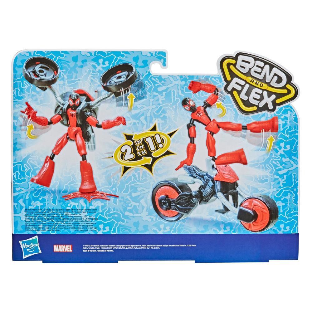 Figura De Acción Spiderman Flex Rider Spiderman image number 2.0
