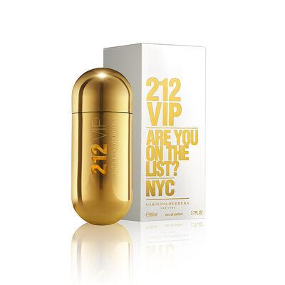Perfume Carolina Herrera 212 Vip Woman Eau De Perfum / 80 Ml / Edp /