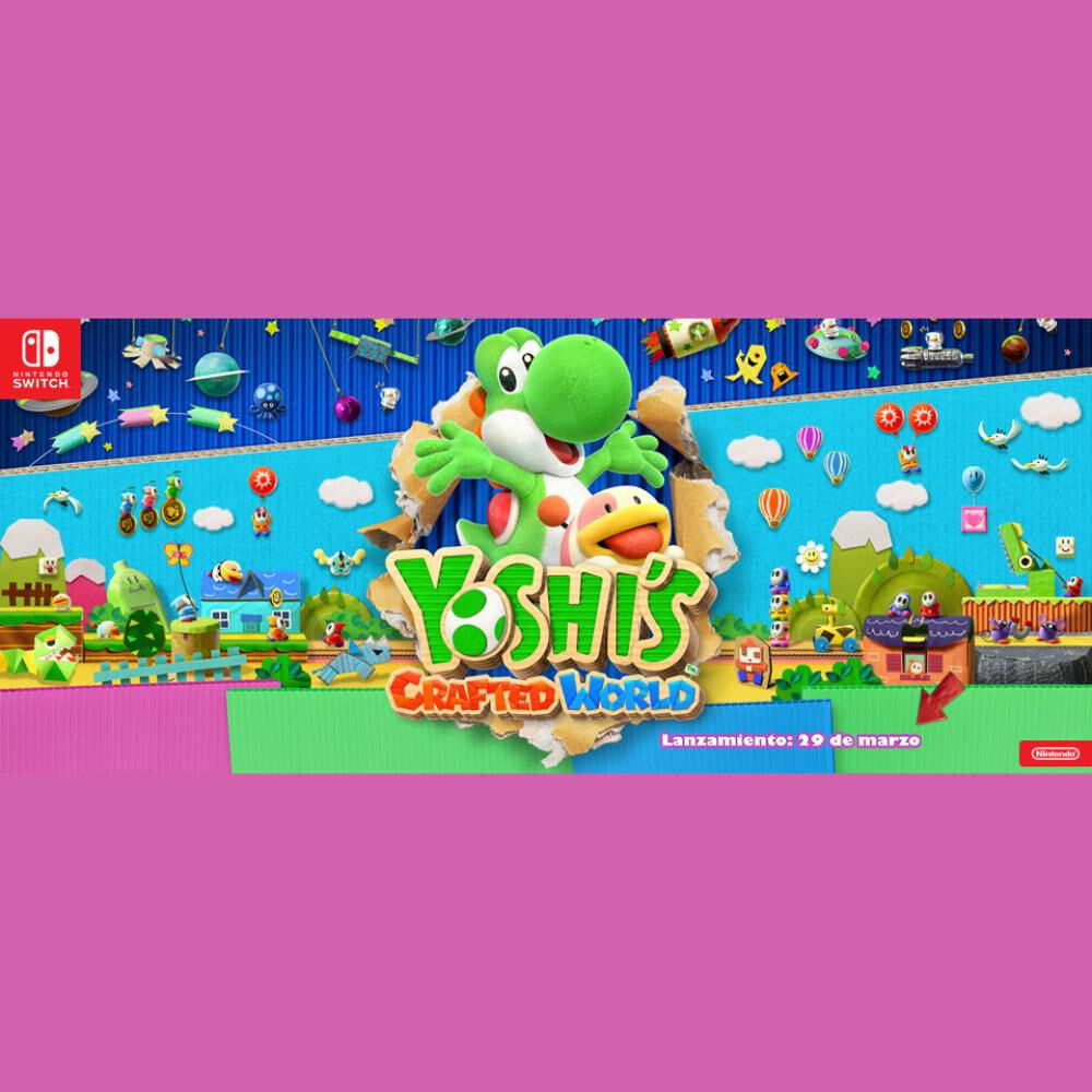 Juego Nsw Yoshi Crafted World image number 4.0