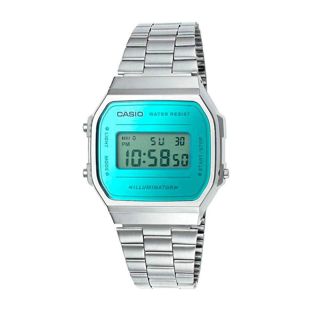 Reloj Unisex Casio A168wem-2df image number 0.0