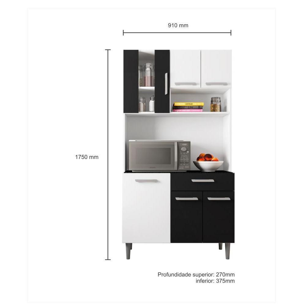 Mueble De Cocina Home Mobili Versace / 6 Puertas / 1 Cajon image number 2.0