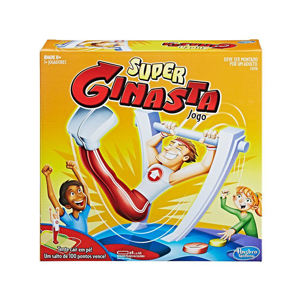 Juego De Mesa Hasbro Gaming Súper Gimnasta image number 0.0
