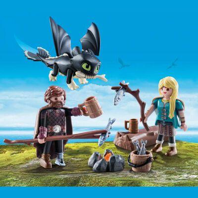 Figura De Acción Playmobil Set De Juego Hipo Y Astrid