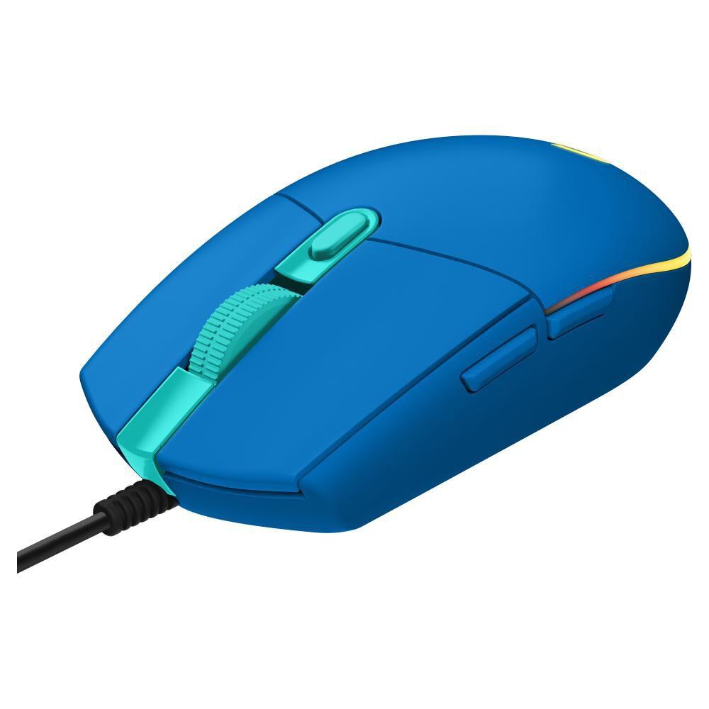 Mouse Gamer Logitech G203 Blue image number 2.0