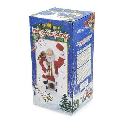 Adorno Navidad Casaideal Santa Claus Patin