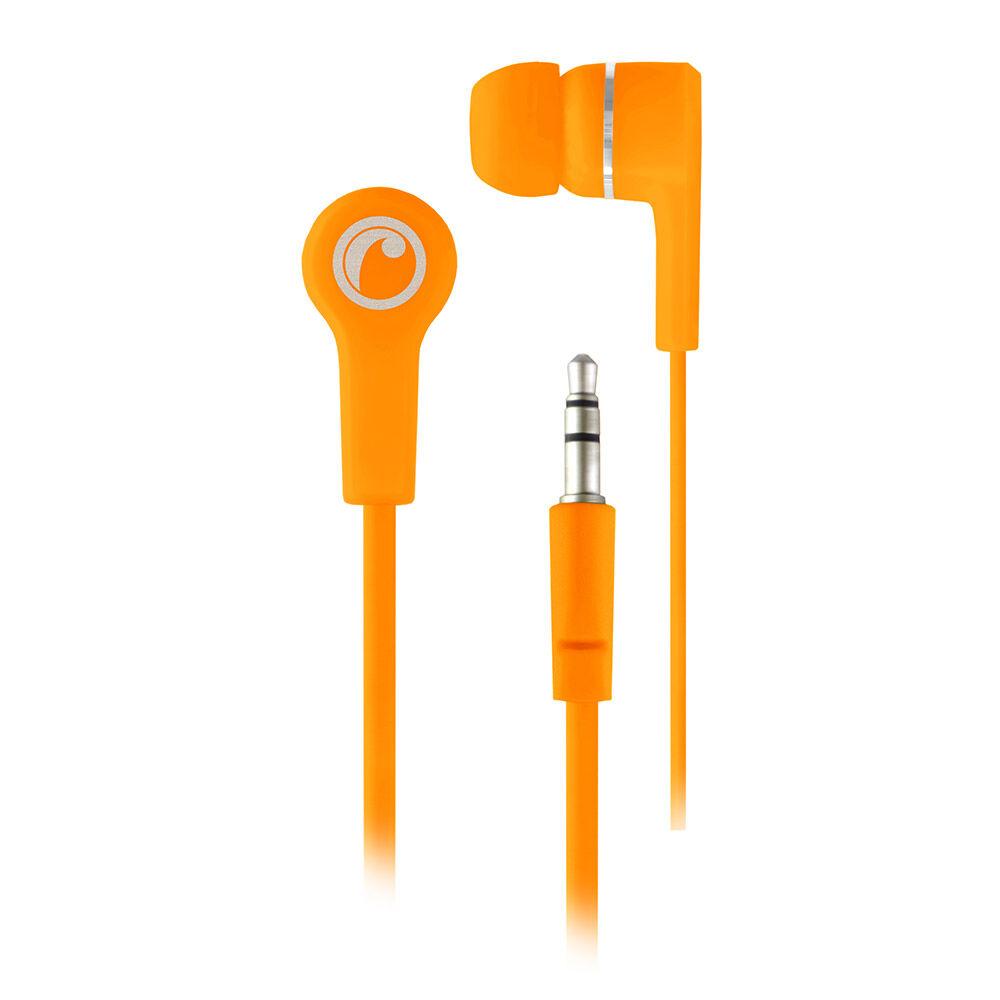 Audifonos Fiddler In Ear Naranjo Fluor image number 0.0