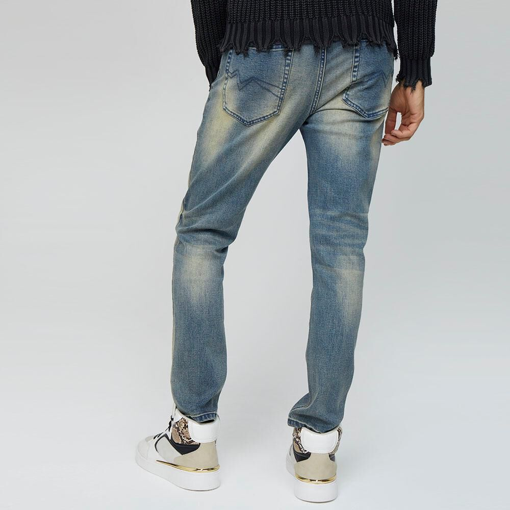 Jeans Hombre Rolly Go image number 2.0