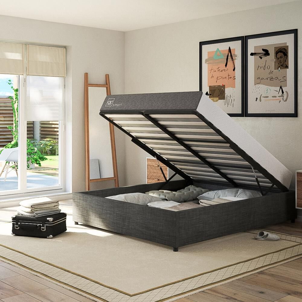 Cama Space Box Cic Excellence Plus / 2 Plazas image number 2.0