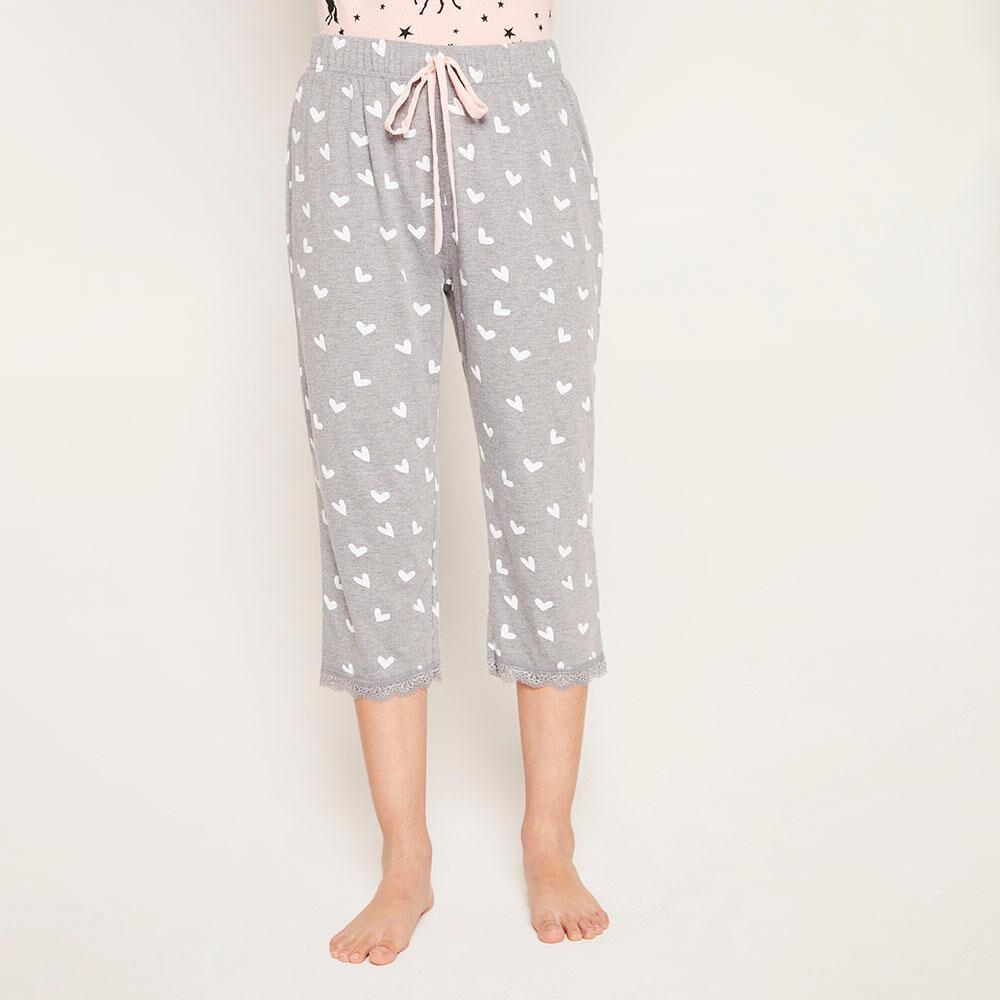 Pantalón Pijama Capri Mujer Freedom image number 0.0