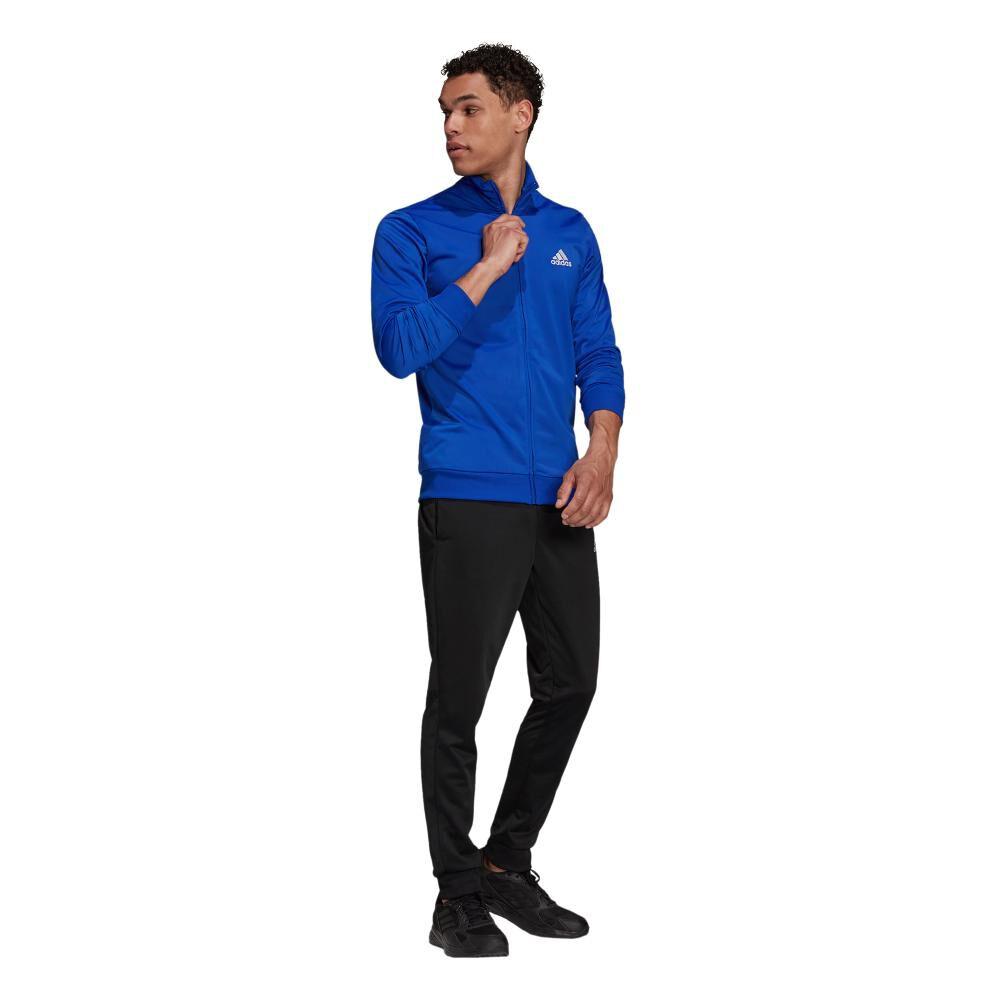 Buzo Hombre Adidas Primegreen Essentials Small Logo image number 3.0