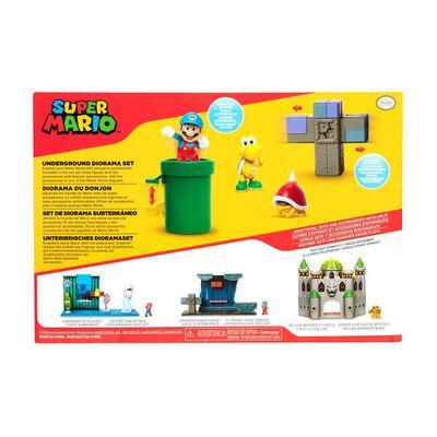 Figura Coleccionable Nintendo Diorama Super Mario Underground