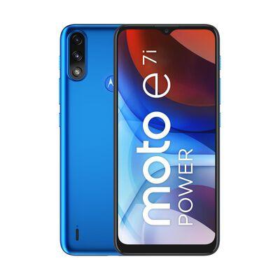 Smartphone Motorola E7i Power Azul / 32 Gb / Claro