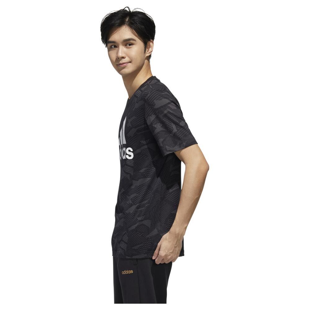 Polera Hombre Adidas Mens Essentials Aop T-shirt image number 2.0