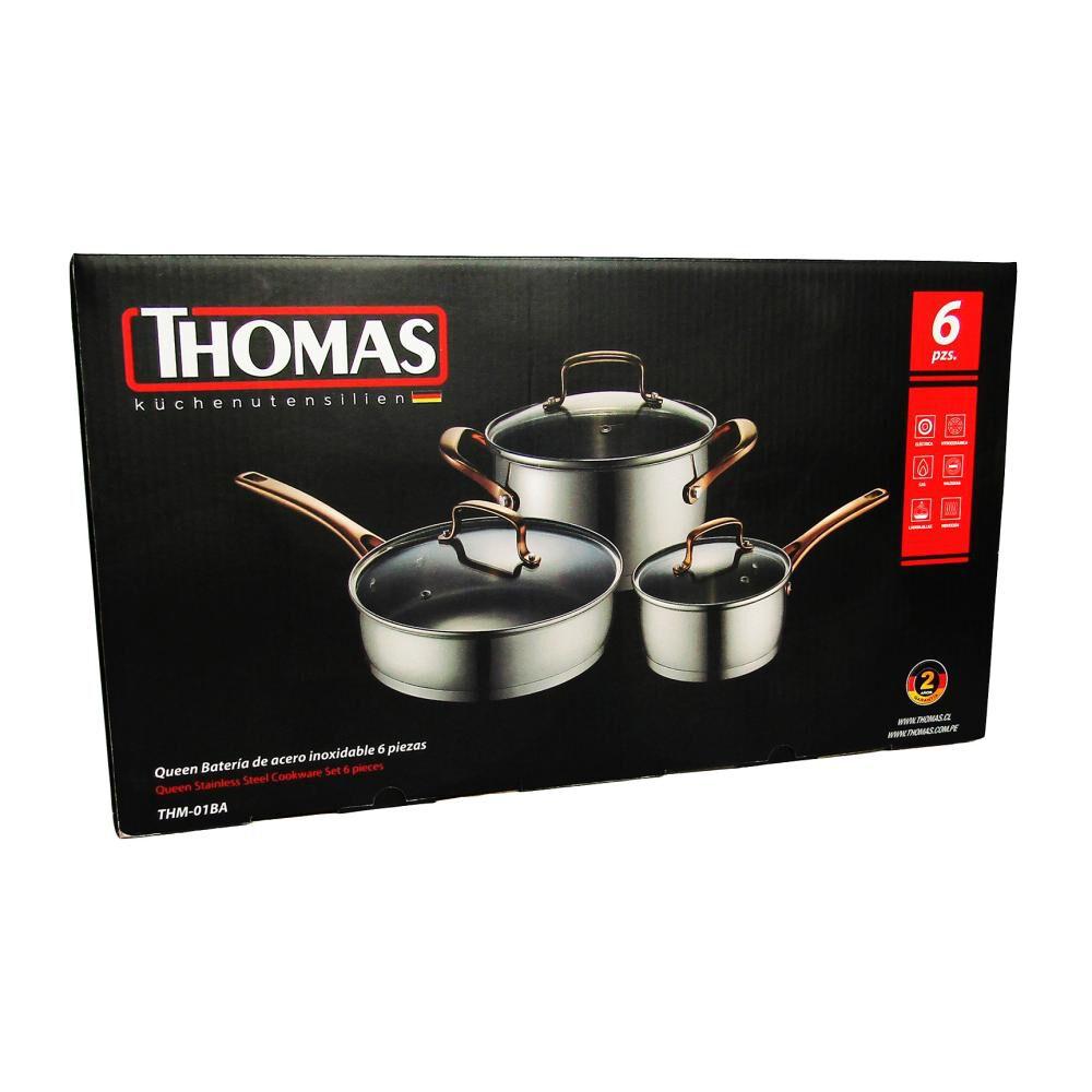 Bateria De Cocina Thomas Thm-01Ba / 6 Piezas image number 1.0