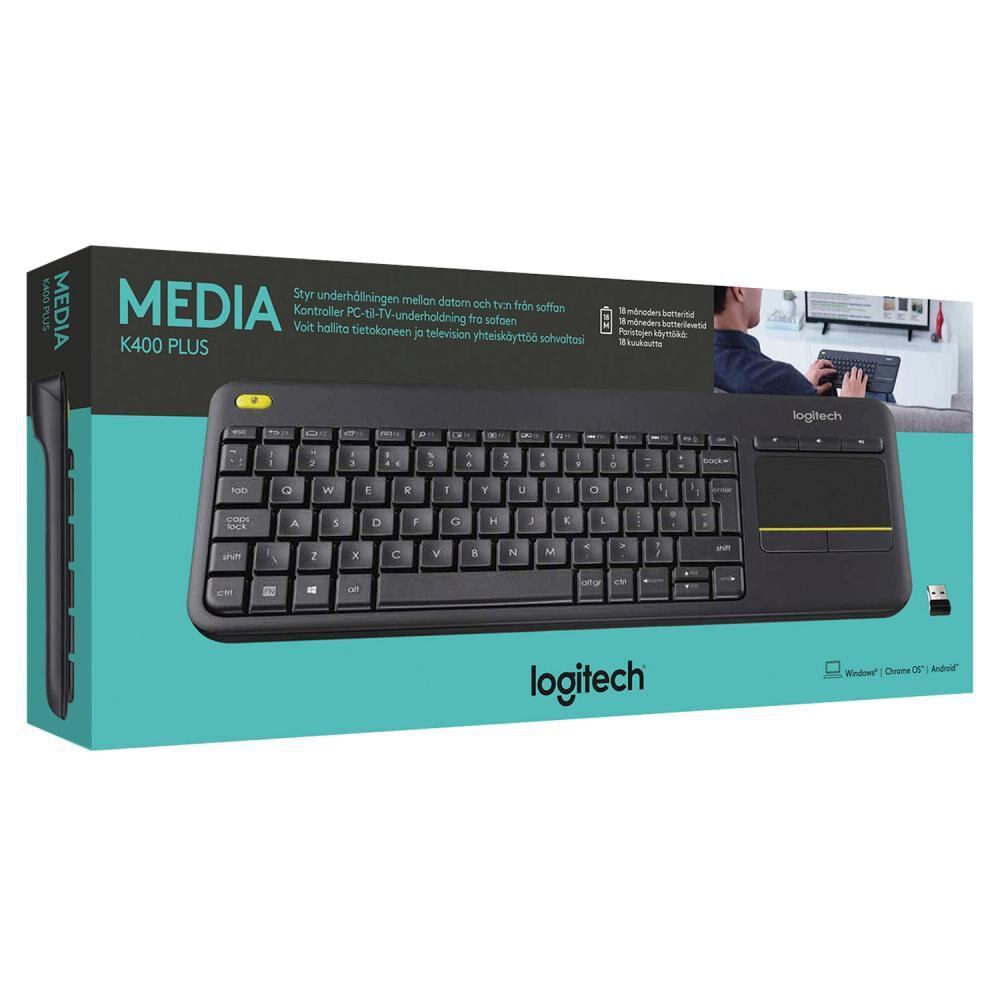 Teclado Multimedia Bluetooth Logitech K400 / SMART TV / PC / MAC image number 2.0