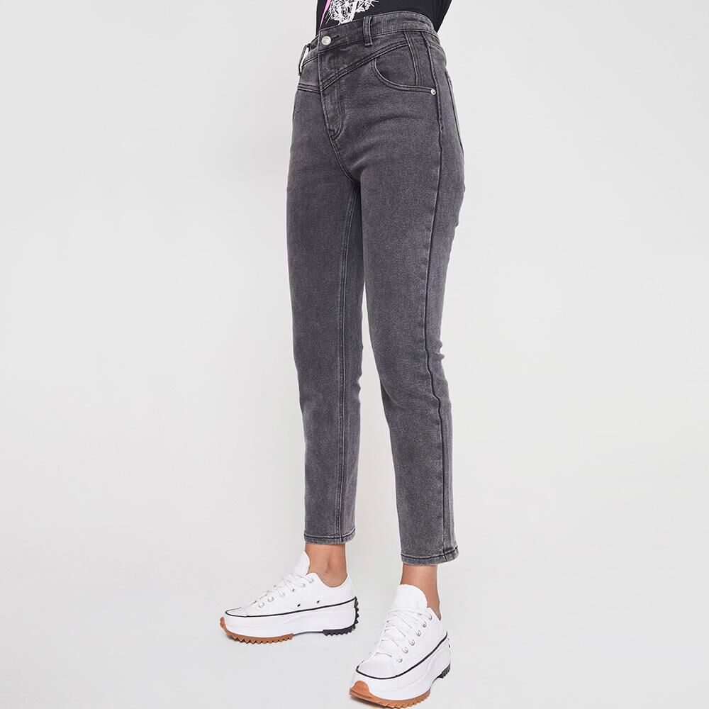 Jeans Mujer Tiro Alto Super Skinny Rolly Go image number 5.0